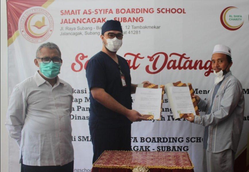 Kerjasama tes SWAB dengan Universitas Gunung Djati